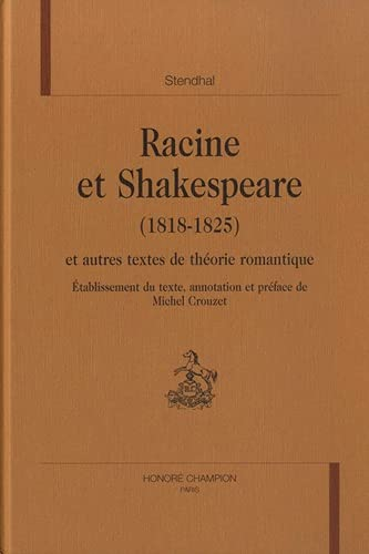 9782745313959: Racine et Shakespeare (French Edition)