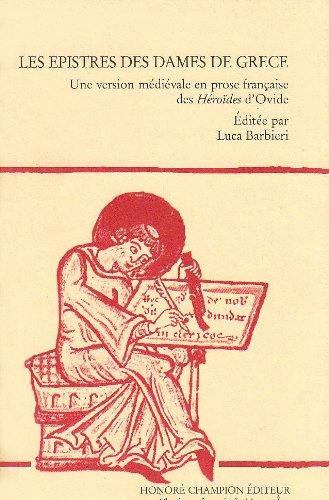 Les epistres des dames de Grèce : Luca Barbieri