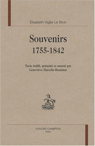 9782745316950: Souvenirs, 1755-1842 (French Edition)