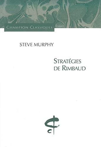 9782745319661: Stratégies de Rimbaud