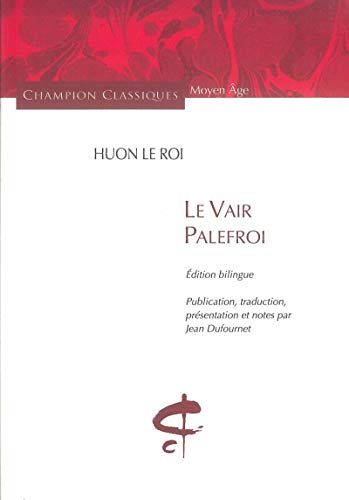 9782745319999: Le Vair Palefroi (French Edition)