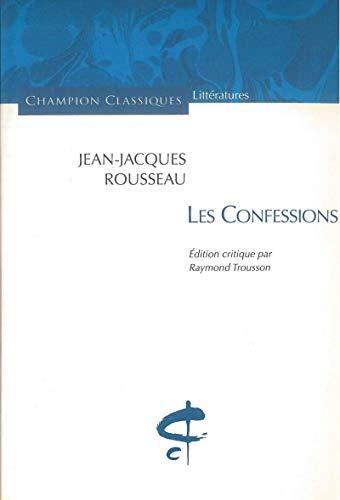 Confessions (Les): Rousseau, Jean-Jacques