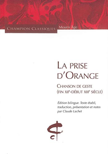 9782745320681: La prise d'Orange (French Edition)