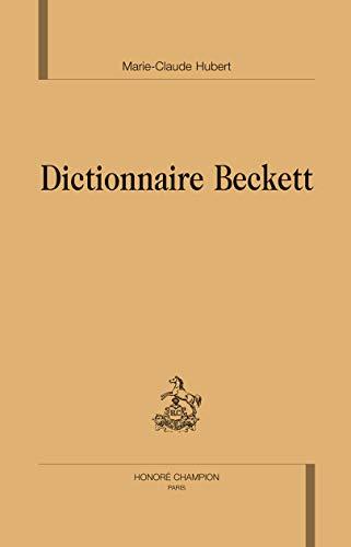 9782745321442: Dictionnaire Beckett