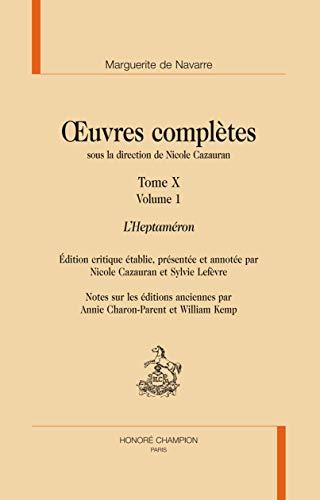 OEuvres complètes sous la direction de Nicole: Marguerite de Navarre