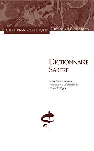 9782745326874: DICTIONNAIRE SARTRE.