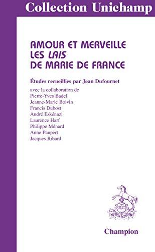 9782745327819: Amours et merveille. Les Lais de Marie de France