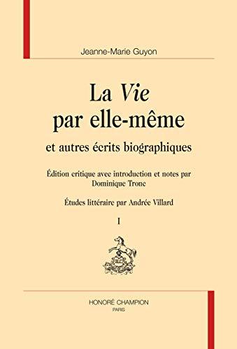 VIE PAR ELLE MEME -LA- 2 VOLUMES - NED: GUYON JEANNE MARIE