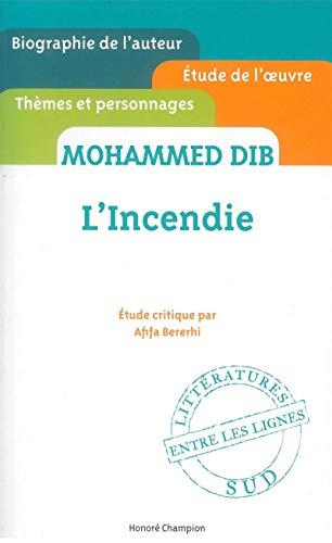 Mohammed Dib: L'incendie: Bererhi, Afifa