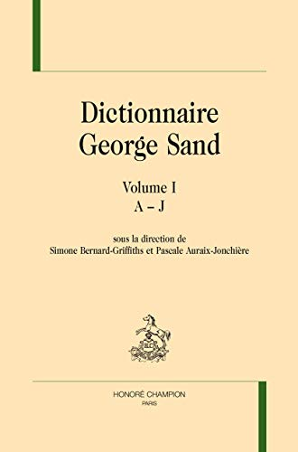 9782745329608: Dcitionnaire George Sand : 2 volumes