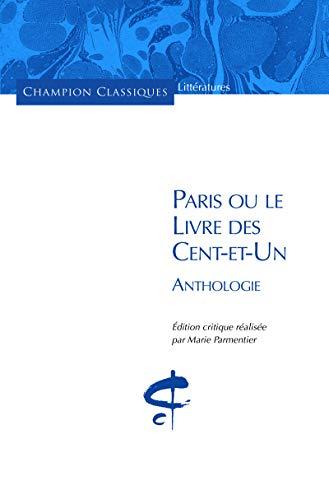 9782745330451: Paris ou le livre des cents-et-un