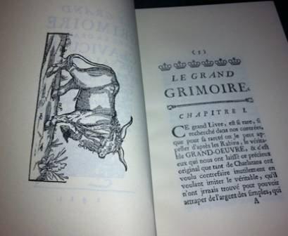 9782745810717: [le] grand grimoire avec la grande clavicule de salomon, et la magie noire, ou les forces infernales