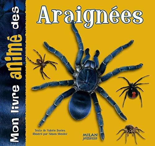 9782745921208: Mon livre animé des araignées