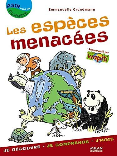 9782745921628: Les espèces menacées