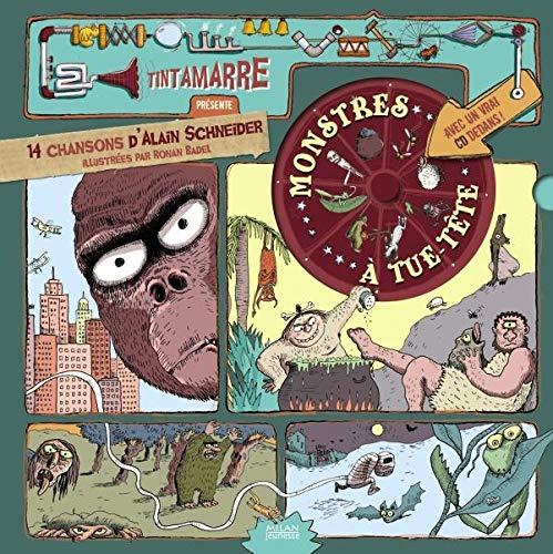 9782745930460: Monstres à tue-tête (1CD audio)
