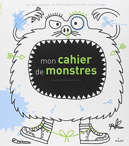 9782745937933: Mon cahier de monstres (French Edition)