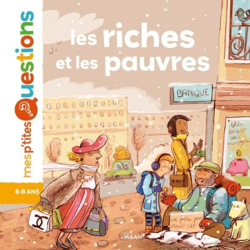 9782745956965: Les riches et les pauvres (Mes p'tites questions)