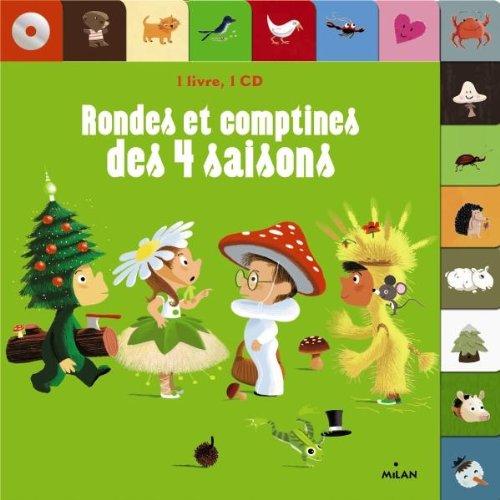 9782745958044: Rondes et comptines des 4 saisons CD - NE