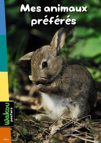 9782745958327: Mes animaux préférés (Wakou Poster)