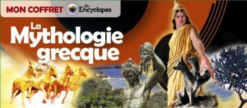 9782745961013: Mon coffret - La mythologie grecque (Les Encyclopes)
