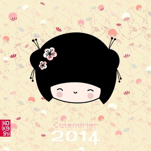9782745963765: Calendrier Kokeshi 2014