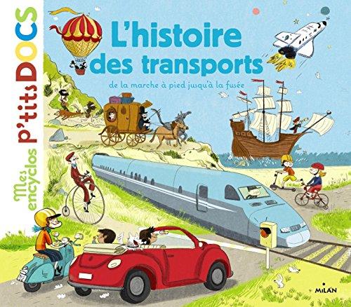 9782745969590: L HISTOIRE DES TRANSPORTS