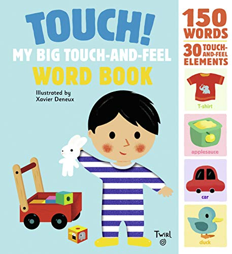 9782745981783: Touch! My Big Touch-and-Feel Word Book