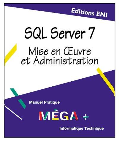 SQL Server V.7: Jérôme Gabillaud