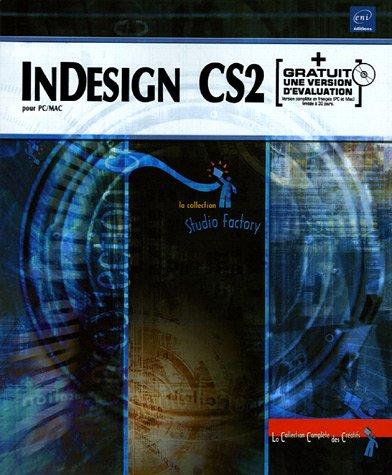 9782746029637: InDesign CS2 pour PC/Mac (+ CD-Rom)