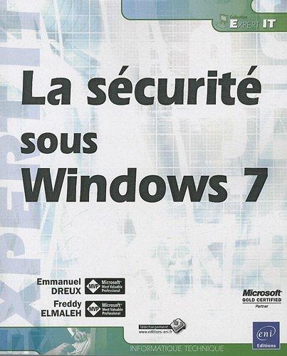 9782746061408: La sécurité sous Windows 7