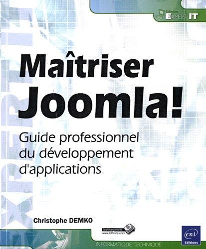 9782746063419: Maîtriser Joomla! - Guide professionnel du développement d'applications