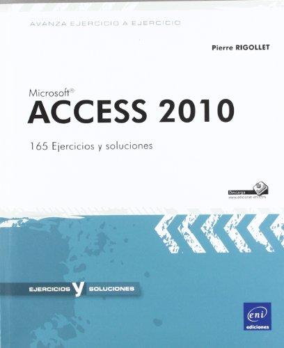 MICROSOFT ACCESS 2010. 165 EJERCICIOS Y SOLUCIONES.: RIGOLLET, P.