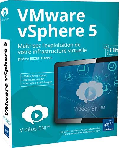 9782746080799: Vidéo de formation VMware vSphere 5 - Maîtrisez l'exploitation de votre infrastructure virtuelle