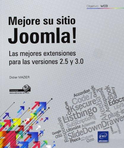 9782746082922: ¡Mejore Su Sitio Joomla! Las Mejores Extensiones Para Las Versiones 2.5 Y 3.0