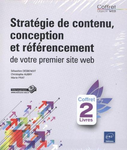 9782746085312: Créez votre premier site web - Stratégie de contenu, conception et référencement