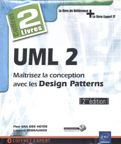 9782746087804: UML 2 - Coffret de 2 livres : Maîtrisez la conception avec les Design Patterns (2e édition)