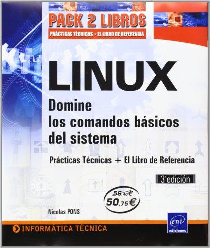 9782746088757: PACK LINUX. DOMINE LOS COMANDOS BASICOS DEL SISTEMA (2 VOLS)