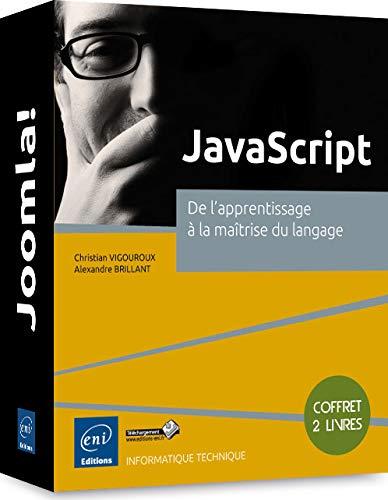 9782746095724: JavaScript - Coffret de 2 livres : De l'apprentissage à la maîtrise du langage