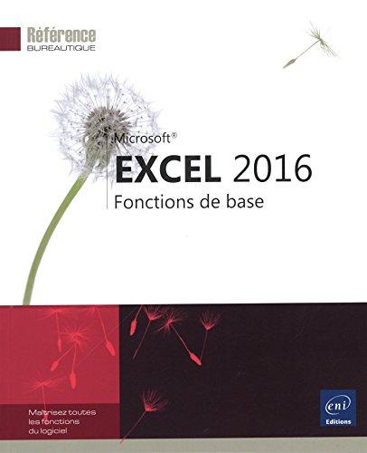 9782746097803: Excel 2016 - Fonctions de base