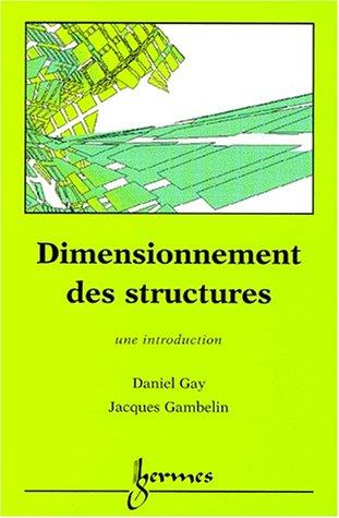 9782746200494: Dimensionnement des structures