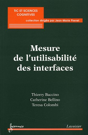 9782746210264: Mesure de l'utilisabilit� des interfaces