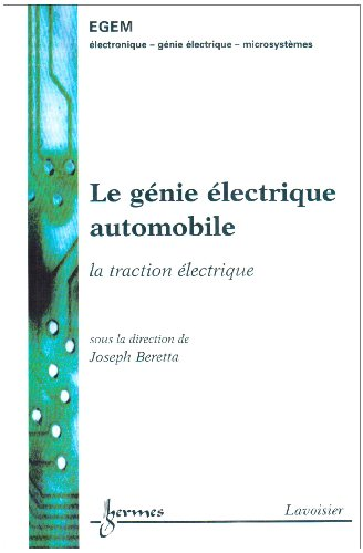 9782746210943: G�nie �lectrique automobile : la traction �lectrique