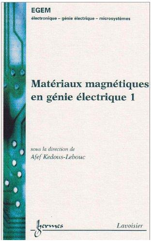 MATERIAUX MAGNETIQUES EN GENIE ELECTRI 1: KEDOUS LEBOUC AFEF