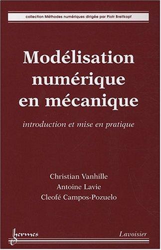 MODELISATION NUMERIQUE EN MECANIQUE: COLLECTIF