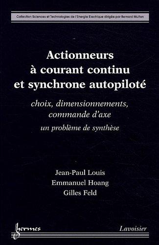 ACTIONNEURS A COURANT CONTINU ET SYNCHRO: LOUIS HOANG FELD
