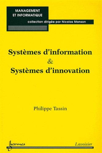 SYSTEMES D INFORMATION ET SYSTEMES D INN: TASSIN PHILIPPE