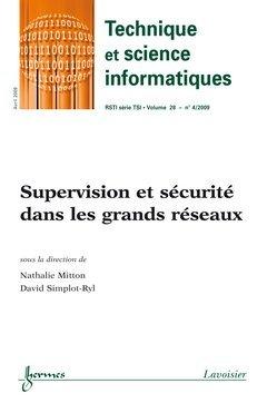 9782746224322: Supervision et Securite Dans les Grands Reseaux (Technique et Science Informatiques Rsti Serie Tsi V
