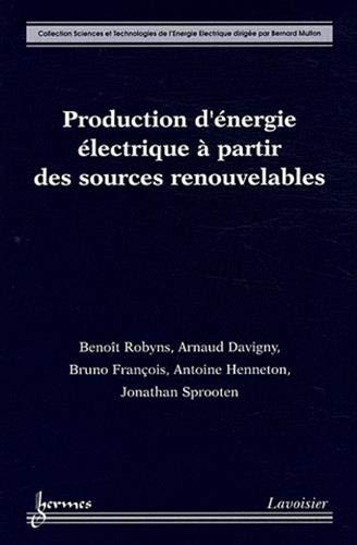 9782746224896: production d'energie electrique a partir des sources renouvelables coll sciences et technologies de