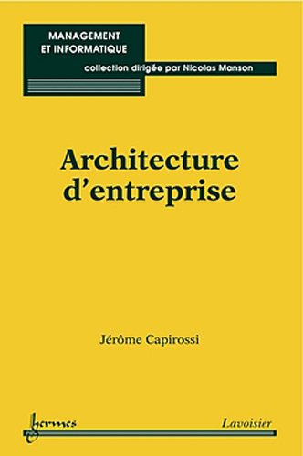 9782746229808: Architecture d'entreprise (French Edition)