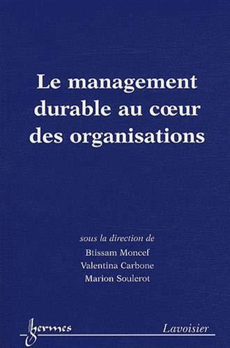 9782746232242: Le management durable au coeur des organisations